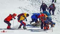 UPDATED/ Red Crescent saves 14 climbers in Tehran Heights in Critical Weather Conditions