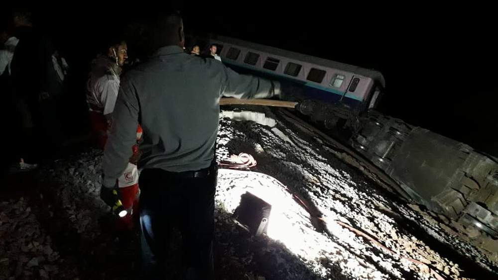 Victims of train derailment accident in Parand receive Outpatient Treatment ‎